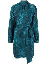 dots print belted dress Vanessa Seward