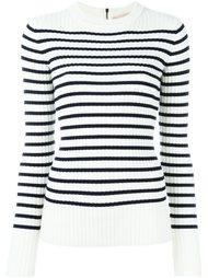 свитер в полоску  Erika Cavallini