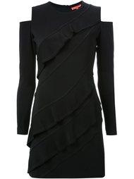 платье с вырезными деталями на плечах Manning Cartell