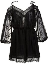 realm scallop playsuit Zimmermann