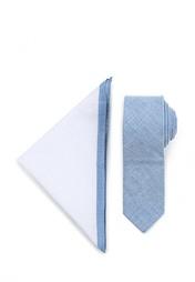Комплект галстук и платок Topman