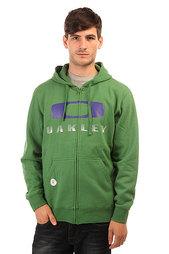 Толстовка классическая Oakley Brackley Square Atomic Green