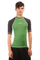 Термобелье (верх) Oakley Ellipse Ss Rashguard Atomic Green