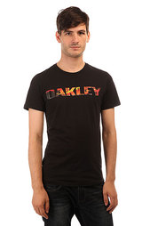 Футболка Oakley Boardwalk View Tee Jet Black