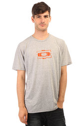 Футболка Oakley O-Square Tee Heather Grey