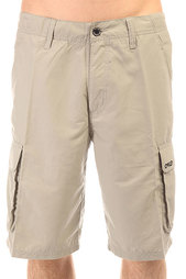 Шорты классические Oakley Wheelie Cargo Short Stone Gray