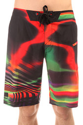Шорты пляжные Oakley Radioactive Boardshort Red Line