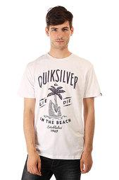 Футболка Quiksilver Classteessshais Tees White