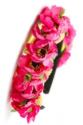 Ободок с цветами FRANSUA ARDY