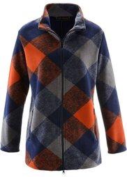 Флисовая куртка (фисташковый/серый меланж/темно) Bonprix