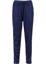 Спортивные брюки с эластичным поясом (красный) Bonprix