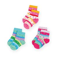 Носки, 3 шт. для девочки Malerba