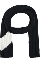 Вязанный шарф из шерсти Moncler