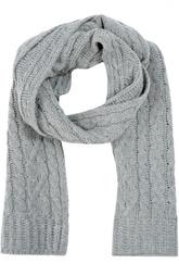 Вязанный шарф из шерсти и кашемира Moncler