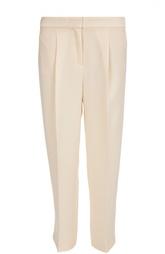 Укороченные брюки прямого кроя с защипами HUGO BOSS Black Label