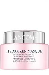 Успокаивающая и увлажняющая ночная маска-сыворотка Hydra Zen Lancome