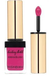 Румяна и блеск для губ Baby Doll Kiss&Blush, оттенок 01 YSL