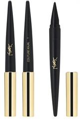 Средство для макияжа глаз 3 в 1 (карандаш-подводка-тени) Couture Kajal 01 YSL