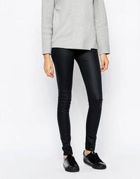 Облегающие джинсы скинни с покрытием Cheap Monday - Черный