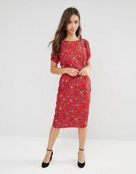 Платье с цветочным принтом Trollied Dolly Straight And Narrow