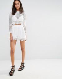 Кружевные шорты Missguided - Белый