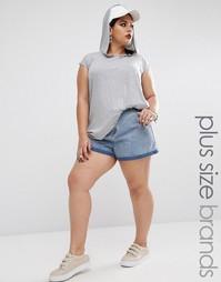 Джинсовые шорты Missguided Plus - Синий