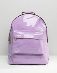 Сиреневый лакированный рюкзак Mi-Pac - Сиреневый