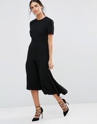 Платье миди Isla Genesis - Черный