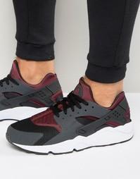 Серые кроссовки Nike Air Huarache 318429-026 - Серый
