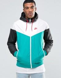 Зеленая куртка-ветровка Nike 727324-351 - Зеленый
