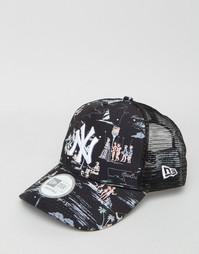 Кепка New Era NY Yankees Offshore - Черный