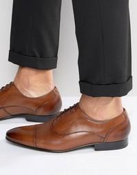 Темно-бордовые оксфордские туфли Ted Baker Umbber - Рыжий