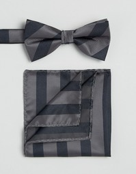Галстук и платок для пиджака Selected Homme - Темно-синий