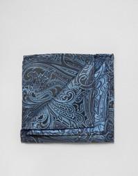 Платок для нагрудного кармана Noose & Monkey - Синий