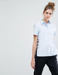 Рубашка со шнуровкой по бокам Sportmax Code Antonia