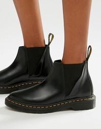 Черные ботинки челси Dr Martens Bianca - Черный