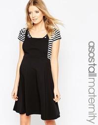 Сарафан для беременных ASOS Maternity TALL - Черный