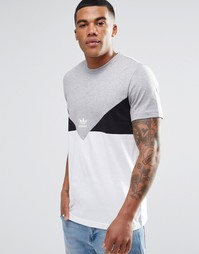 Футболка adidas Originals CRDO AY7811 - Серый