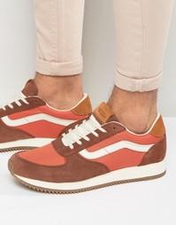 Оранжевые кроссовки для бега Vans VA2XS8JYL - Оранжевый