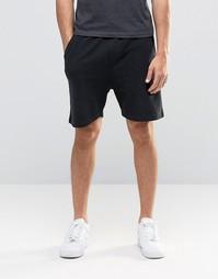 Трикотажные шорты в рубчик Another Influence - Черный