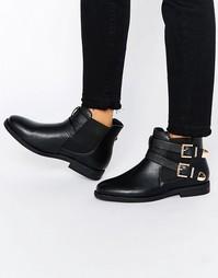 Ботинки челси с ремешками и пряжками Truffle Collection Fred