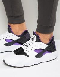 Белые кроссовки Nike Air Huarache 318429-105 - Белый