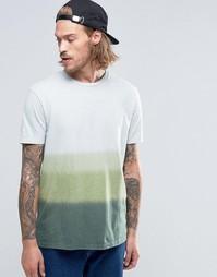 Фактурная футболка с эффектом деграде ASOS - Металл