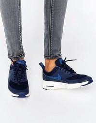 Темно-синие кроссовки Nike Air Max Thea