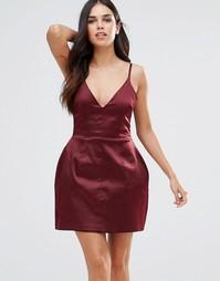 Платье-комбинация Hedonia - Красный