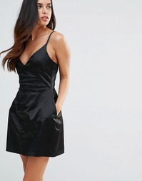 Платье-комбинация Hedonia - Черный