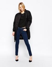 Облегающие джинсы Selected Annie - Синий