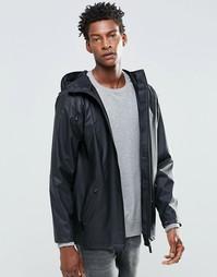 Короткая водонепроницаемая куртка Rains - Черный