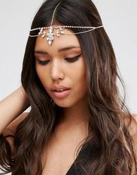 Украшение для волос с цветами и камнями ASOS - Crystal