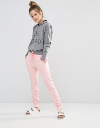 Розовые меланжевые шаровары Noisy May Kicks Back - Розовый меланж